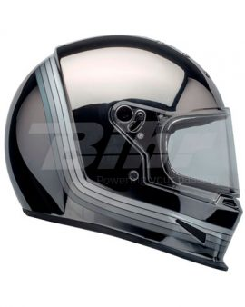Casco eliminator spectrum bell negro mate/cromo