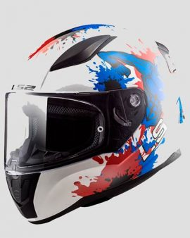 Casco Rapid Mini Monster (White Blue) Infantil