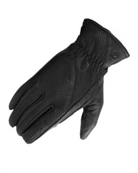 Guantes piel agujereados Fresh On Board Negros